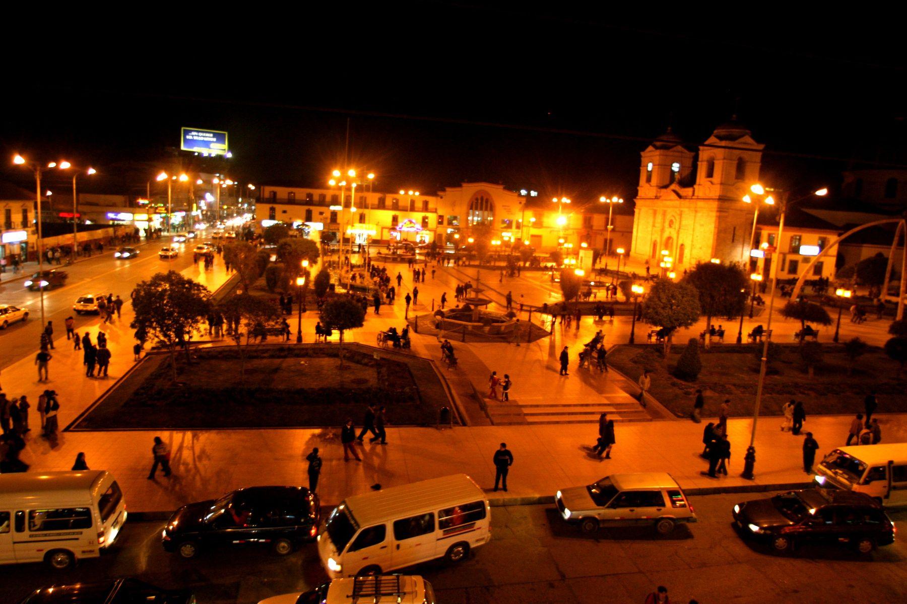 Los vuelos a Jauja facilitarán el acceso a la ciudad de Huancayo. Foto. ANDINA/Archivo.