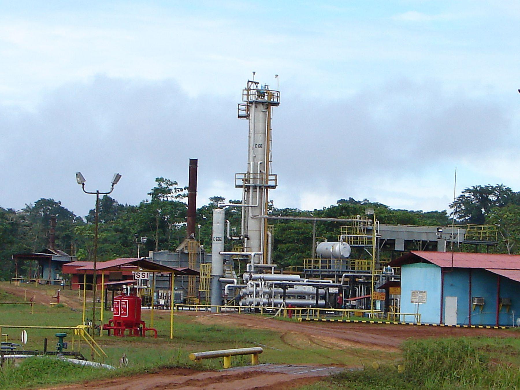 Planta petrolera  en Andoas. Foto:ANDINA/Archivo