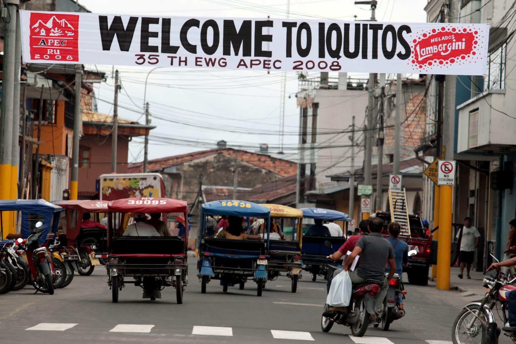 Cuidad de Iquitos. Foto: ANDINA/Piero Vargas.