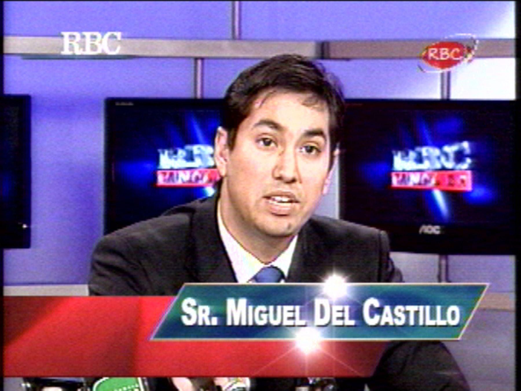 Miguel del Castillo. Captura Tv