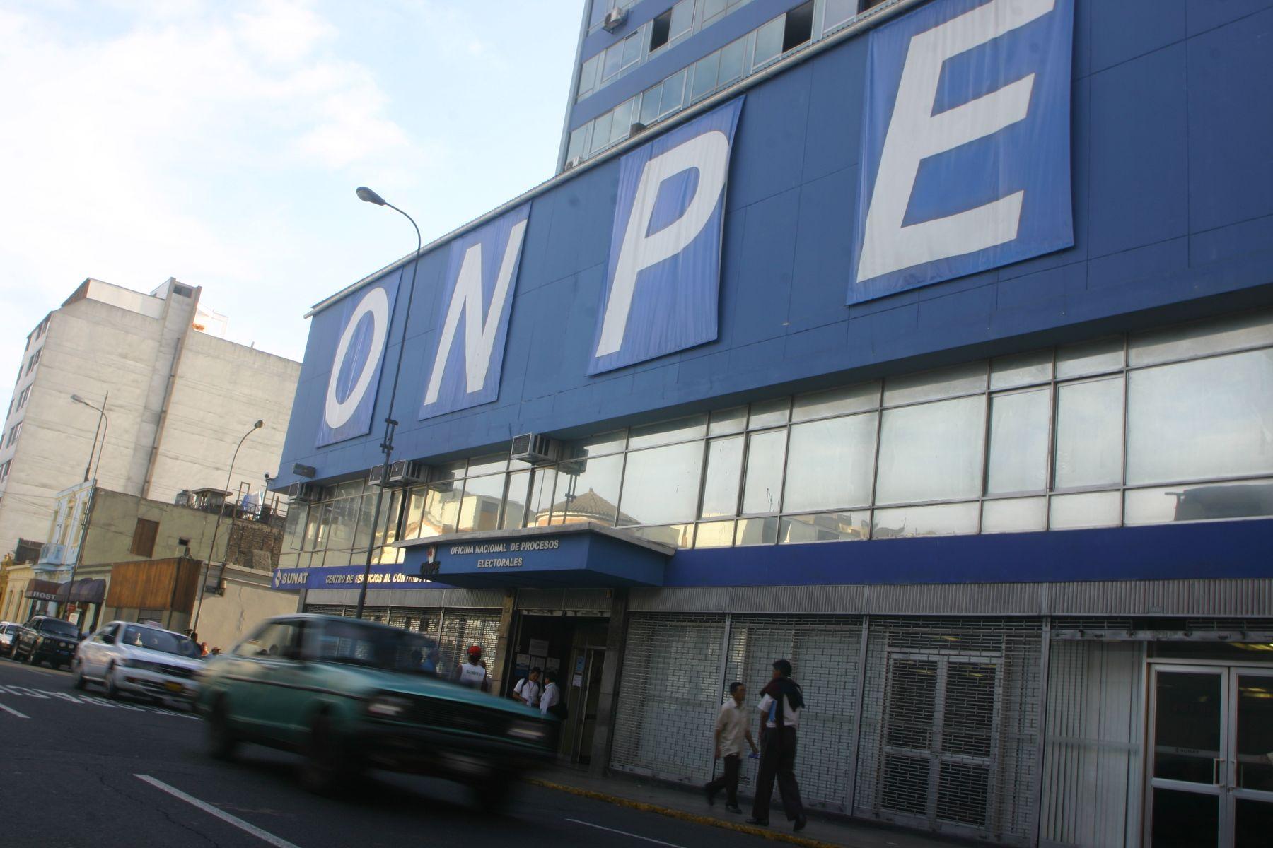 Sede de la ONPE.