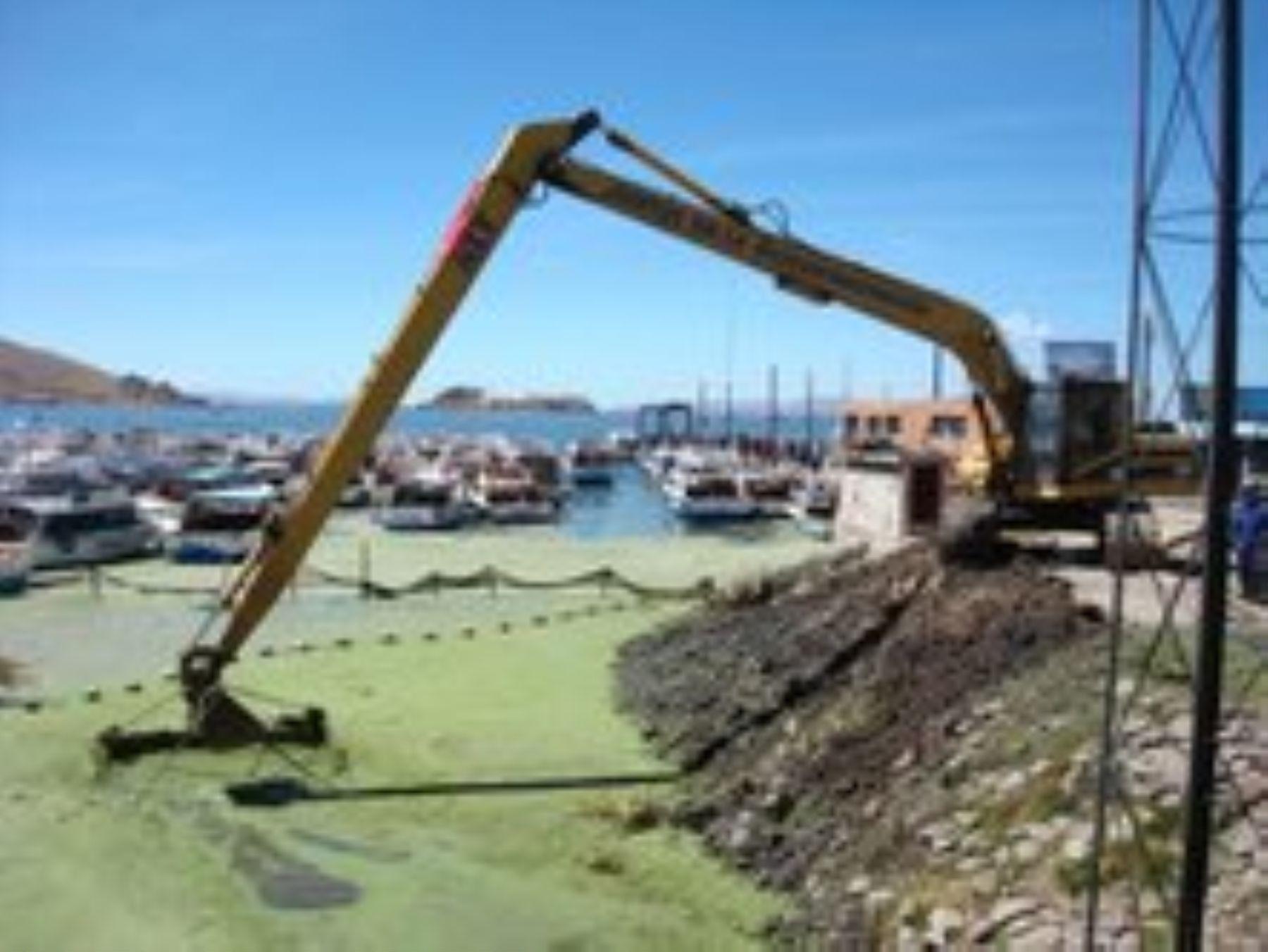 Se inicia proceso para la construcción de las plantas de tratamiento de aguas residuales que contaminan el lago Titicaca.