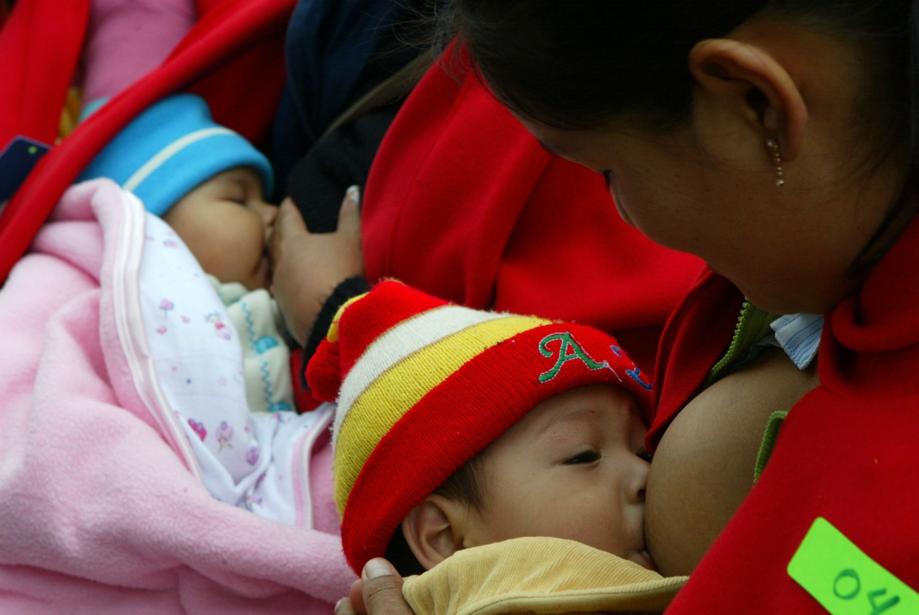 La leche materna es el mejor alimento para los recién nacidos. Foto: ANDINA/Rubén Grández.
