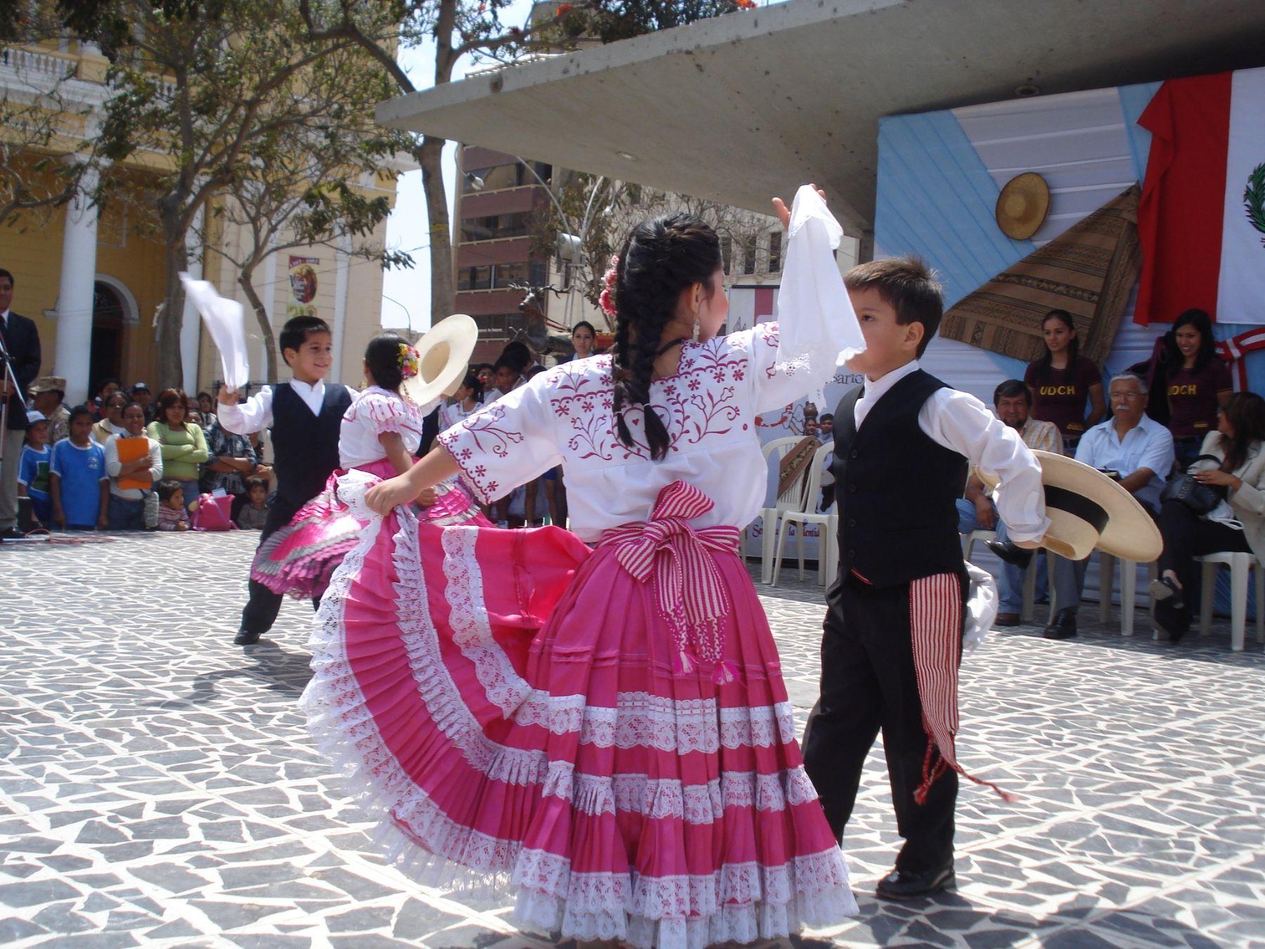 La marinera, danza típica de Lambayeque. Foto: ANDINA / Gobierno regional de Lambayeque.