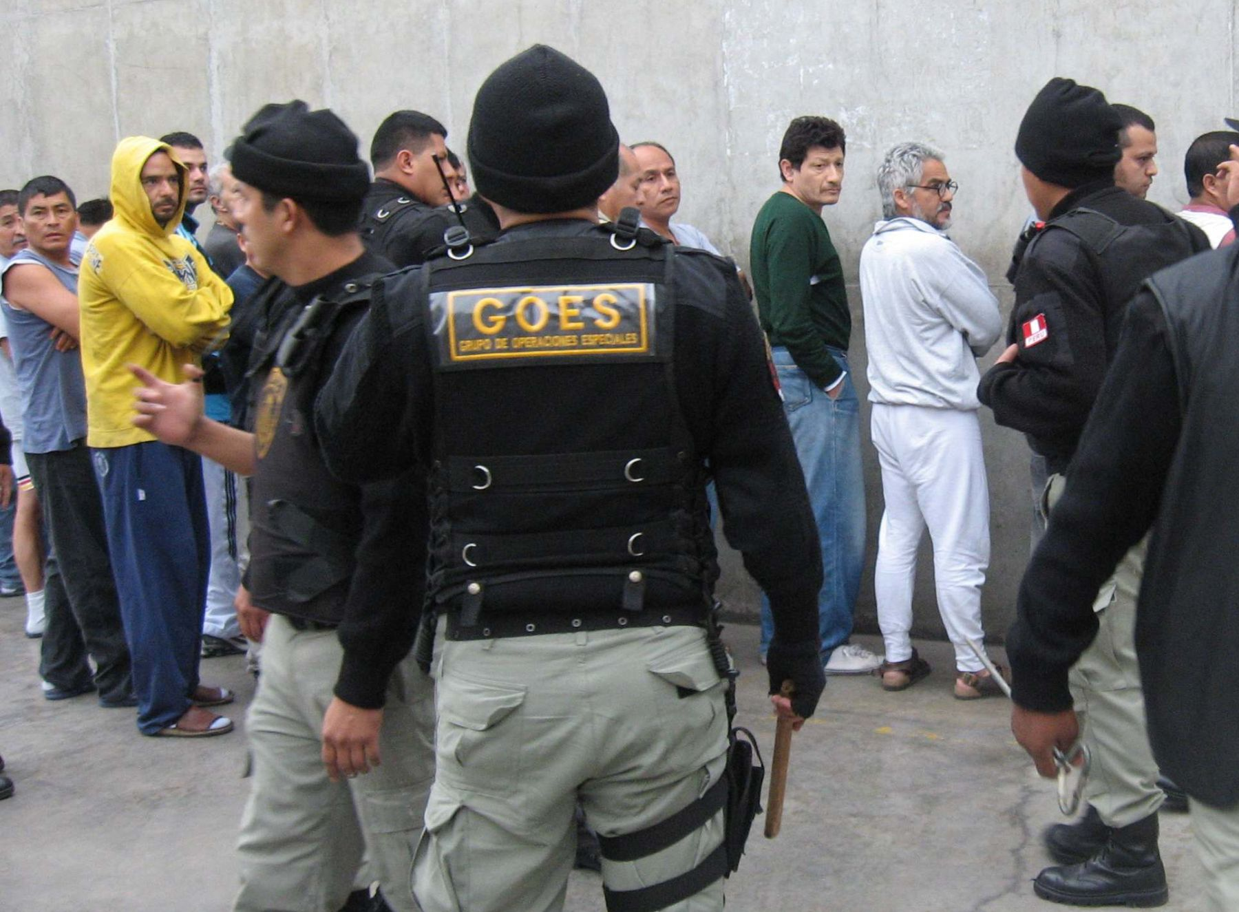 Inpe solicita agentes penitenciarios. Foto: ANDINA/Inpe.