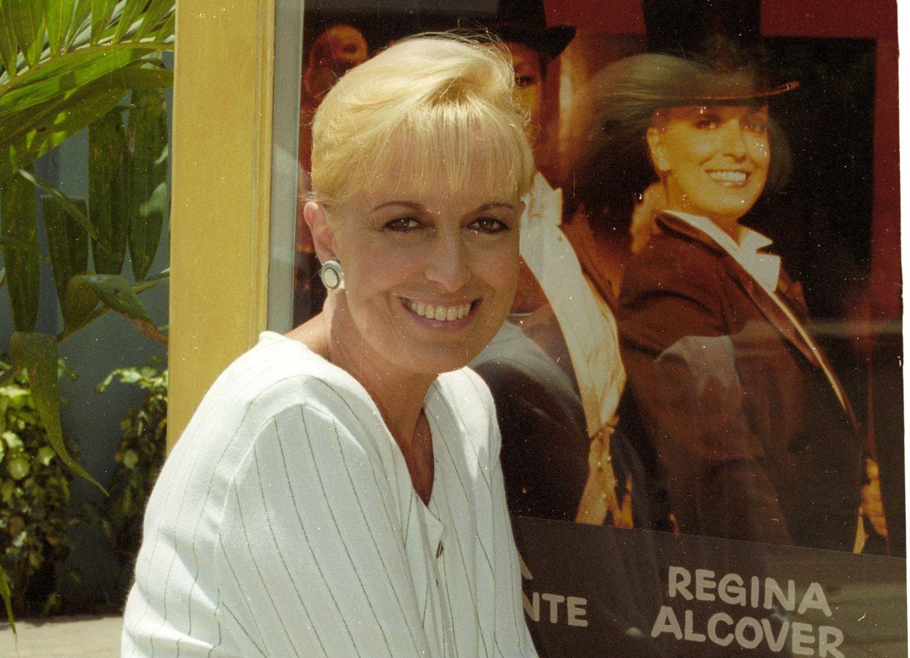 Actriz Regina Alcóver. Foto: ANDINA/Archivo.