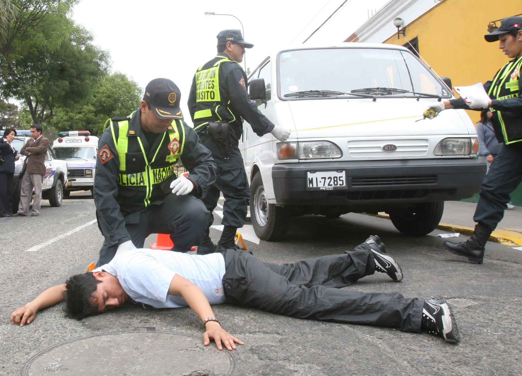 Accidentes de tránsito dejan muertos y heridos en la capital. Foto: ANDINA/Archivo.