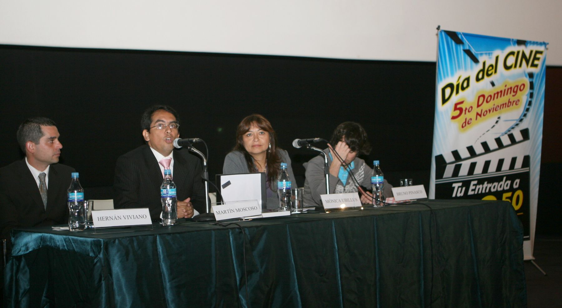 Día del Cine a realizarse el domingo. Foto: ANDINA/Jorge Paz H.