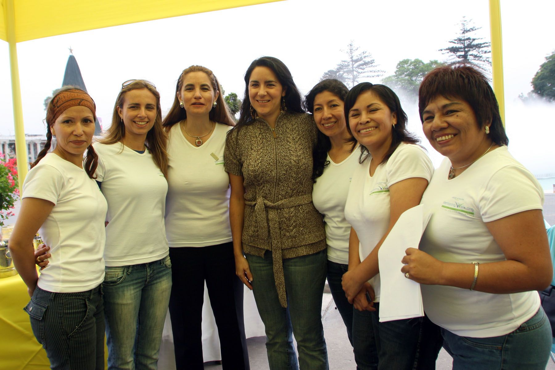 """Lanzamiento del Proyecto """"Voces Vitales"""" em el Parque de la Exposición. Foto: ANDINA / Carolina Urra"""