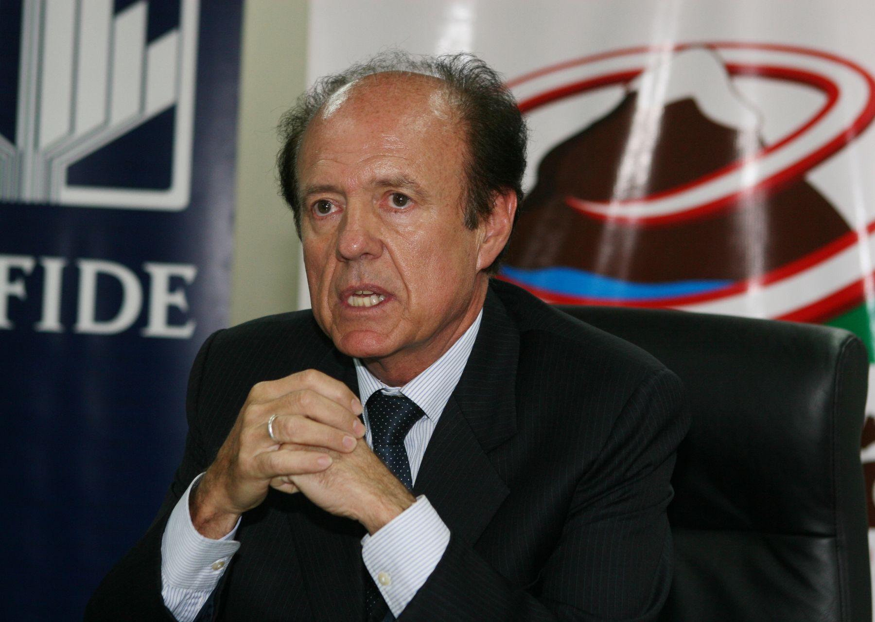 Presidente Ejecutivo de Sierra Esportadora, Gastón Benza. Foto.ANDINA / Norman Cordova