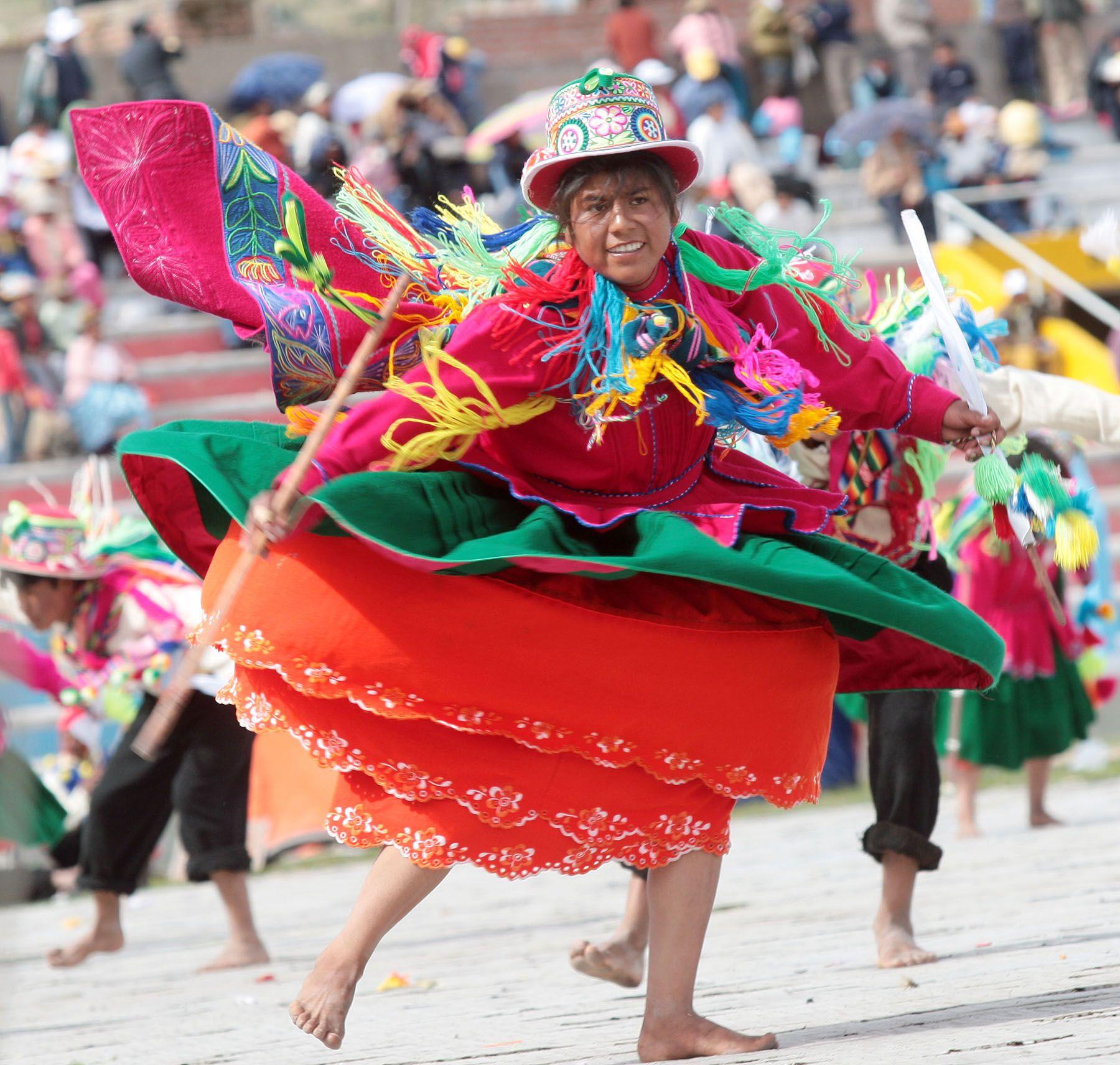 La ciudad de Puno está de fiesta. Foto: ANDINA / Archivo / Carlos Lezama
