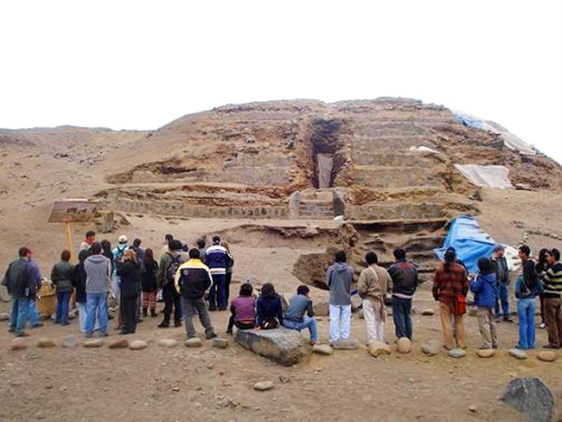 Sitio arqueológico de Aspero, ciudad pesquera de Caral. ANDINA/Difusión