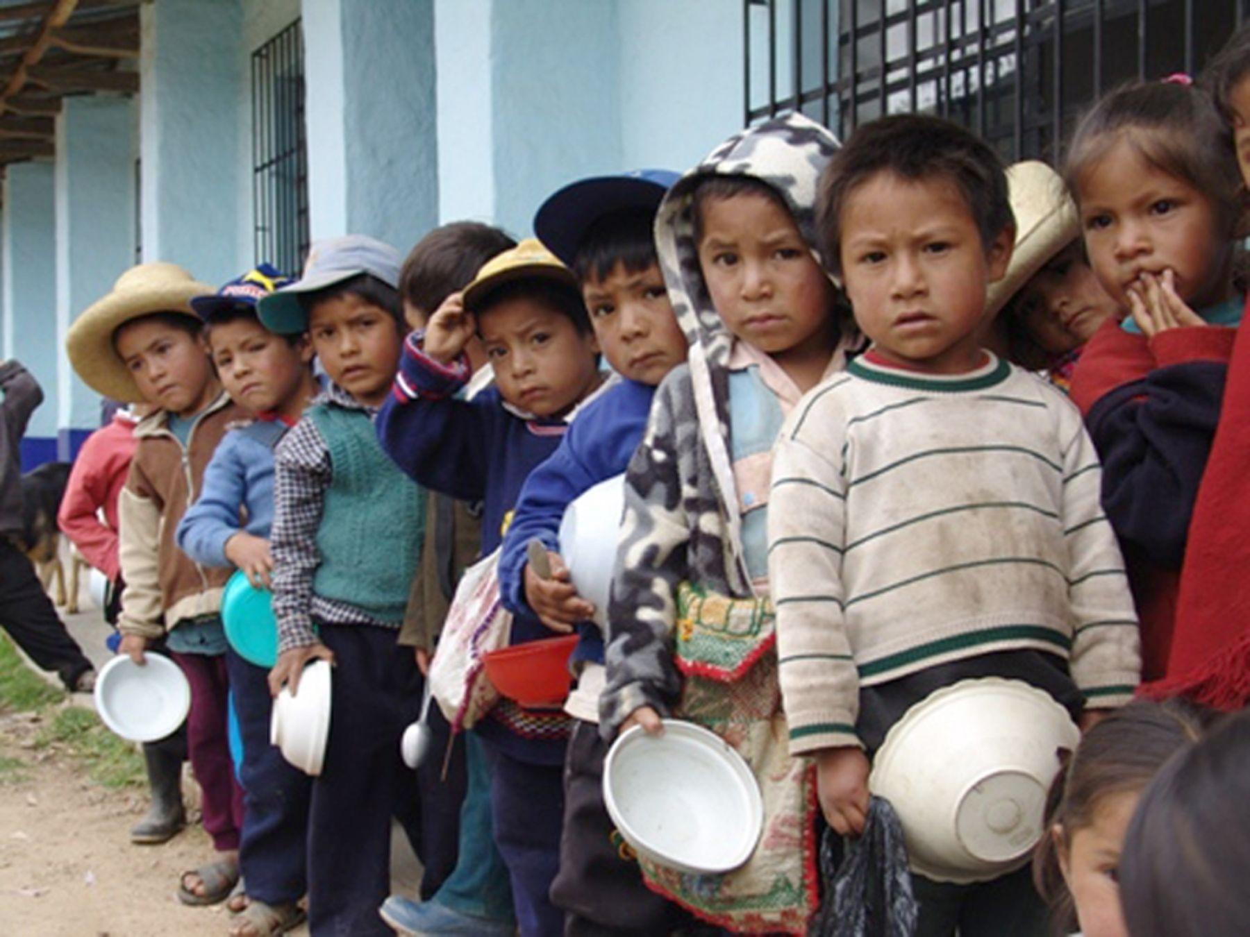 Niños serán mejor nutridos. Foto: ANDINA / Mimdes.