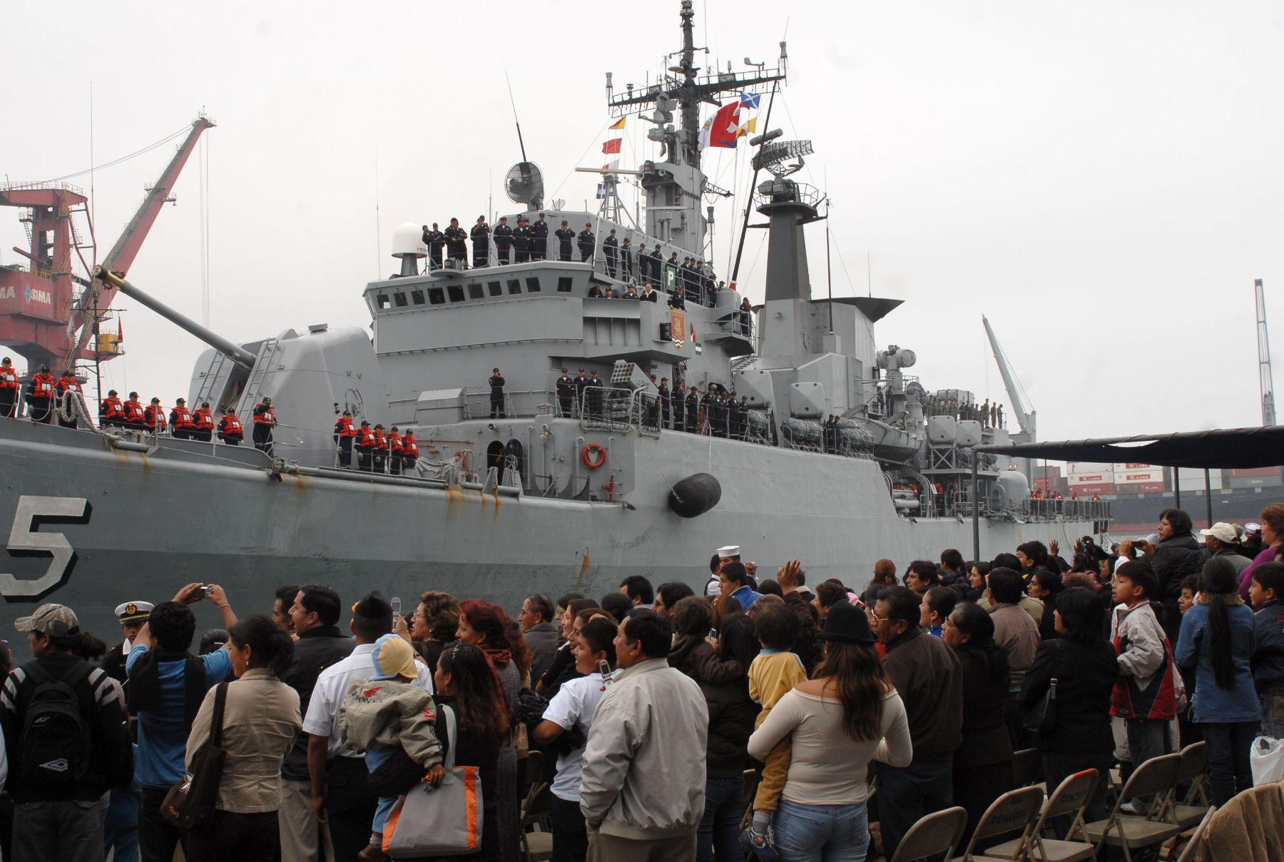 Marina de Guerra del Perú.