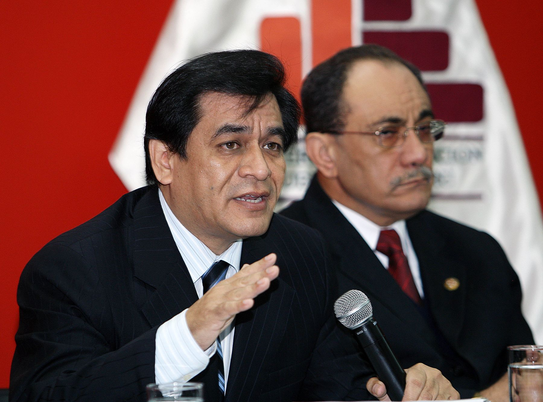 Conferencia de prensa del ministro de Educación, José Antonio Chang. Foto: ANDINA/Norman Córdova.