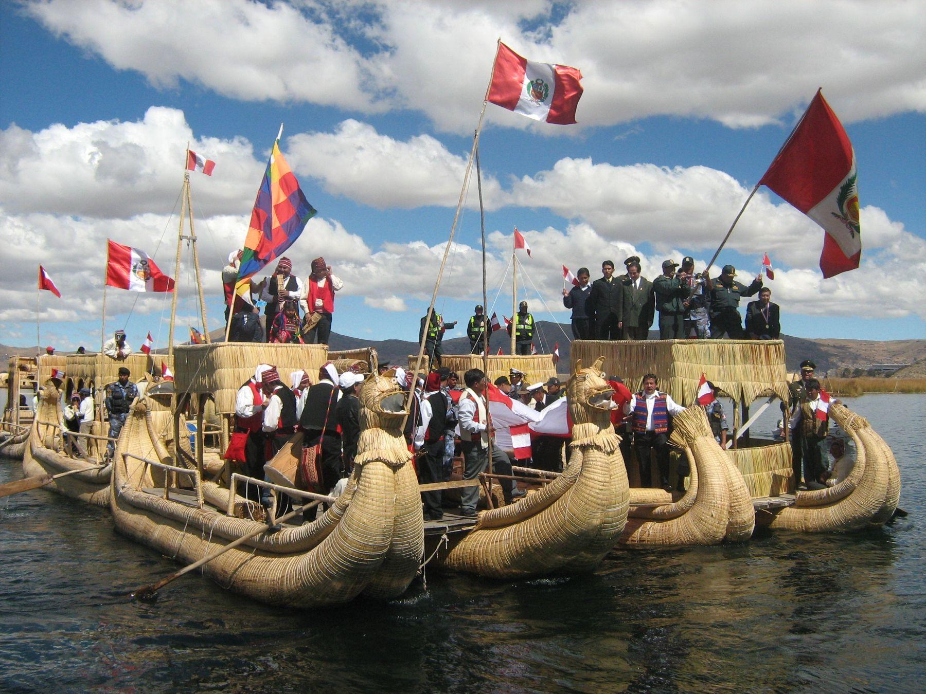 Lake Titicaca. Photo: Andina/Atilio Alejo.
