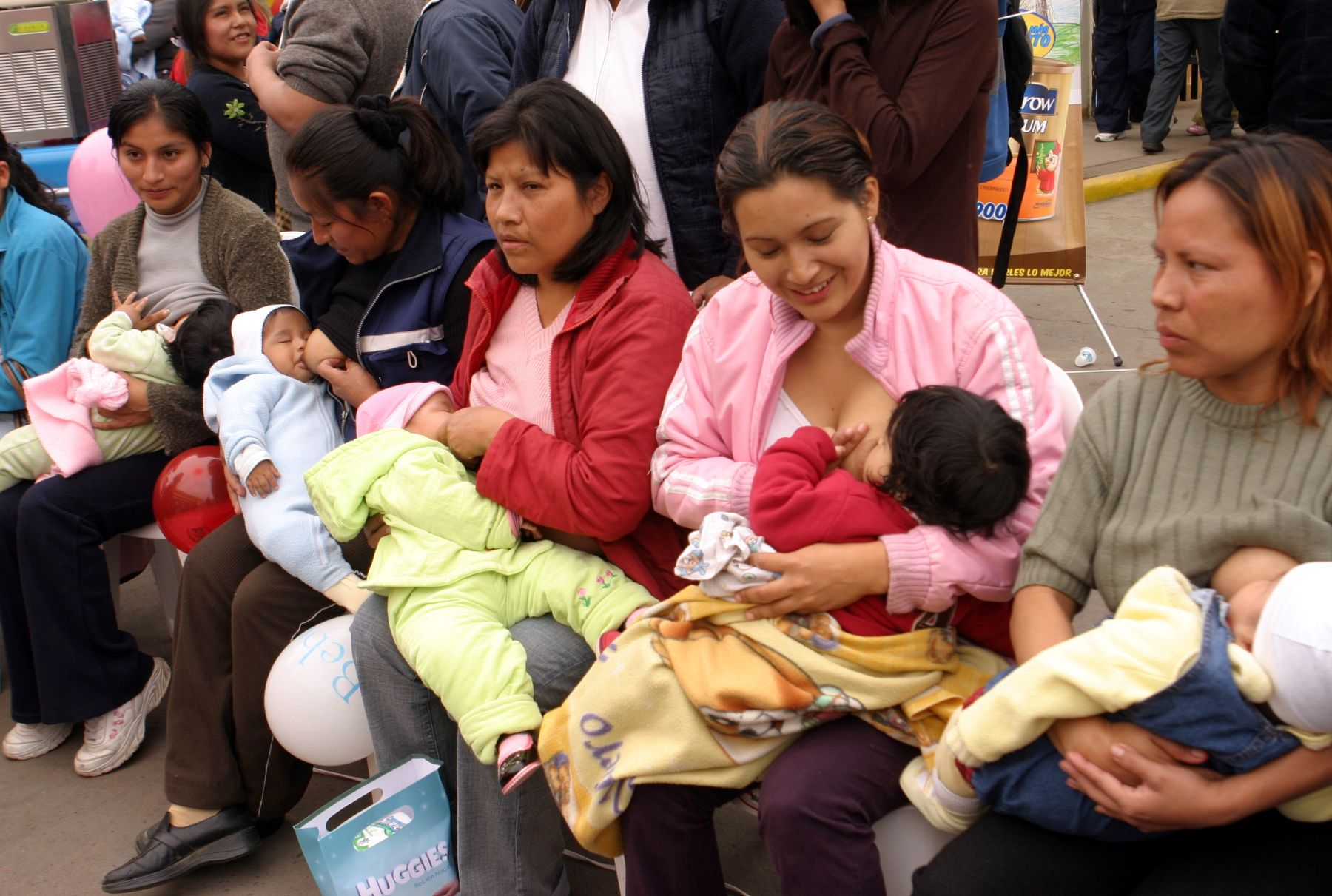 Celebrarán Semana de la Lactancia Materna, del 23 al 27 de agosto. Foto: ANDINA/Archivo.