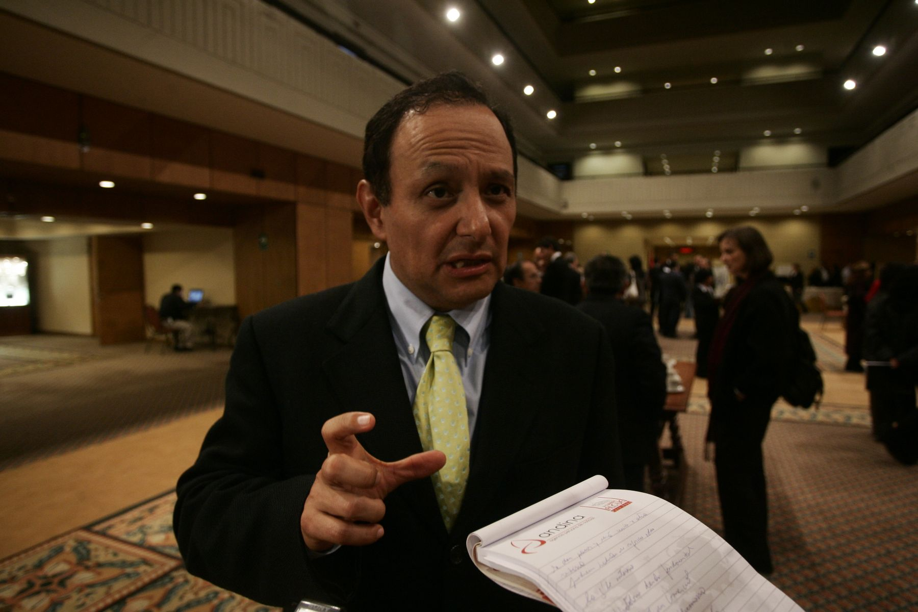 Walter Gutiérrez, decano del Colegio de Abogados de Lima (CAL).