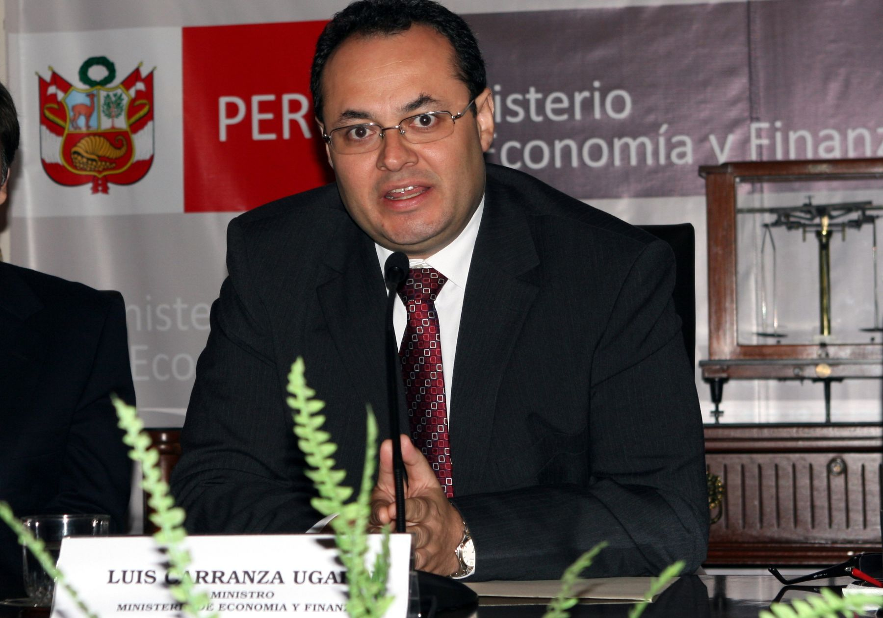 Ministro de Economía y Finanzas, Luis Carranza. Foto: ANDINA/Héctor Vinces.