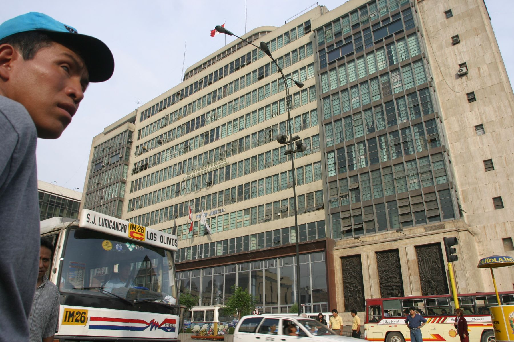 Edificio del Ministerio Público en la avenida Abancay, en Lima. Foto: ANDINA/Archivo.