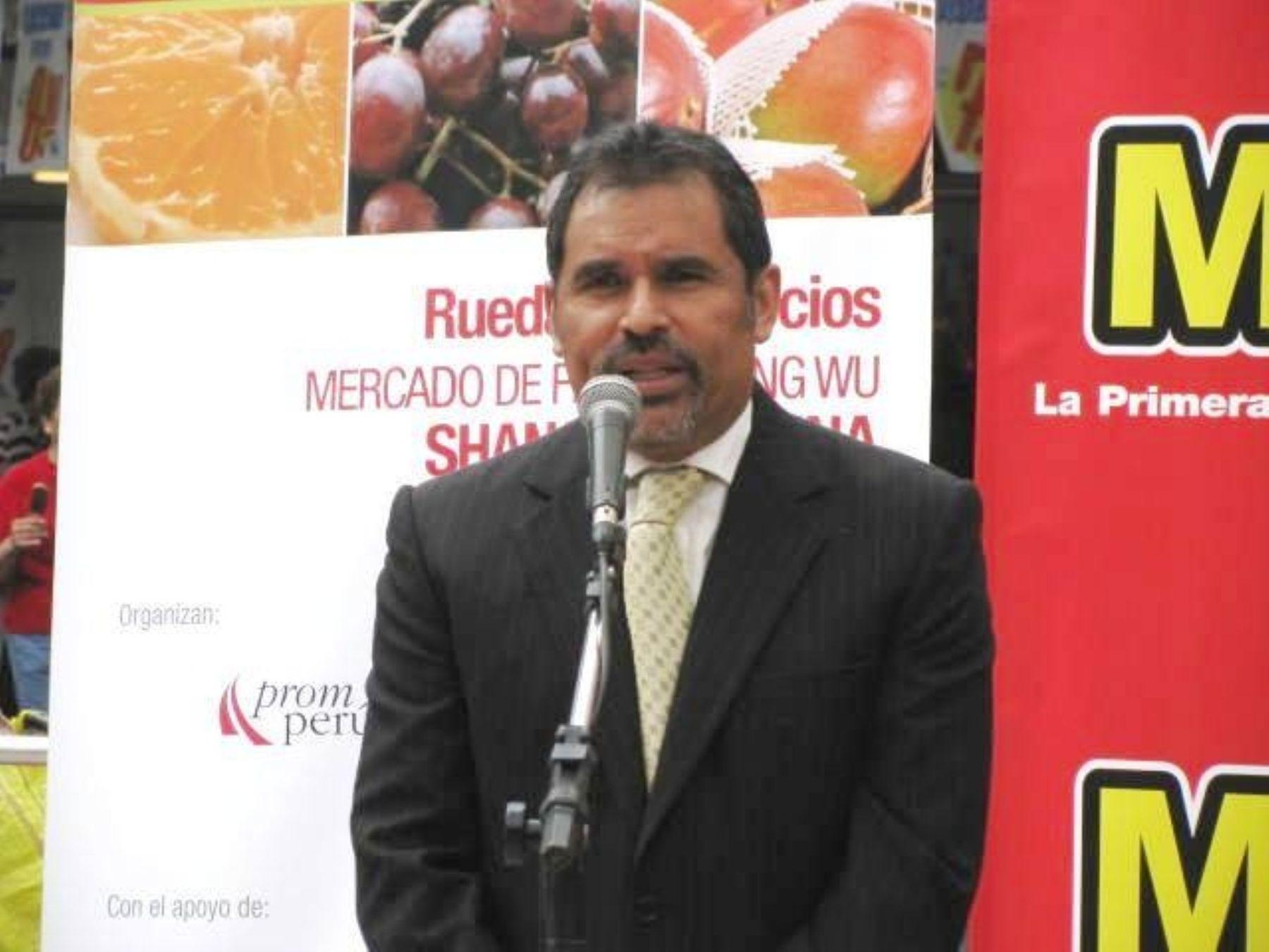 Director de Exportaciones de Promperú, Juan Carlos Mathews.