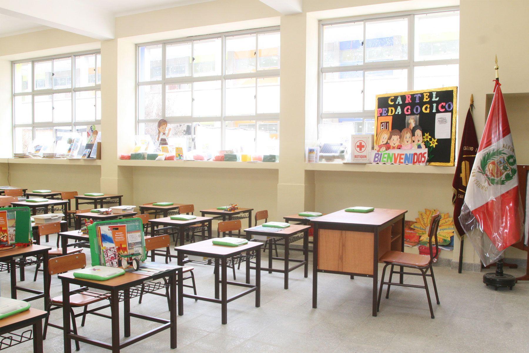 Se suspende clases en turnos tarde y noche en colegios del litoral peruano. Foto: Andina/Archivo