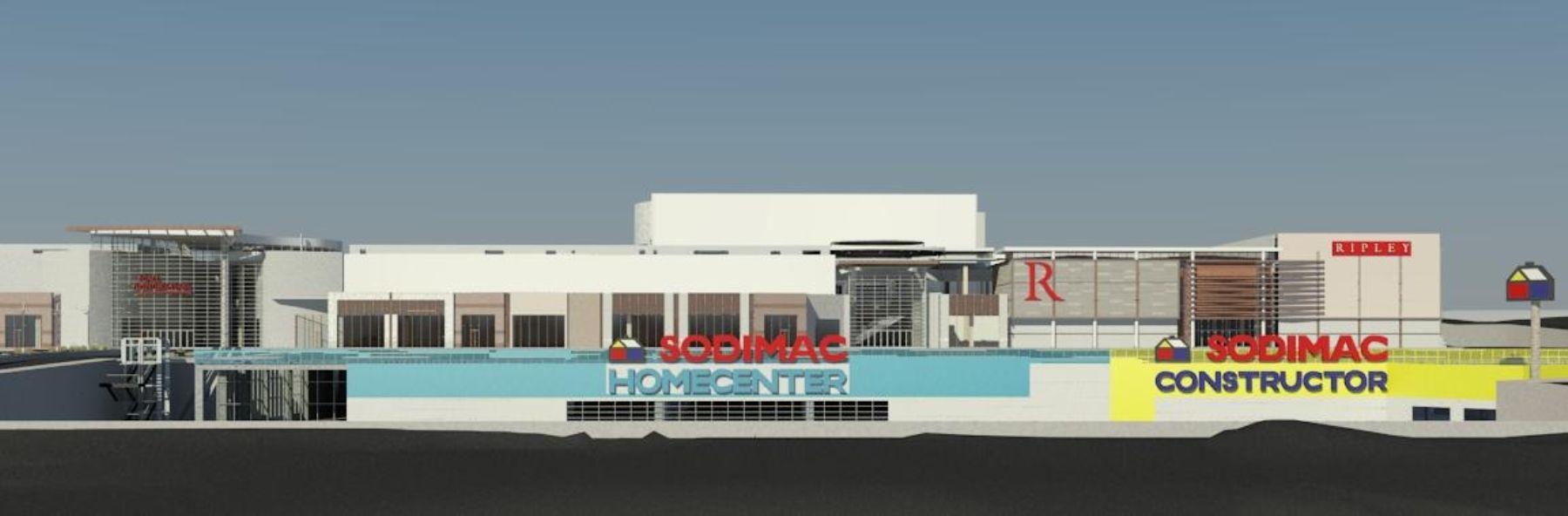Proyecto de Mall Aventura Plaza de Arequipa.