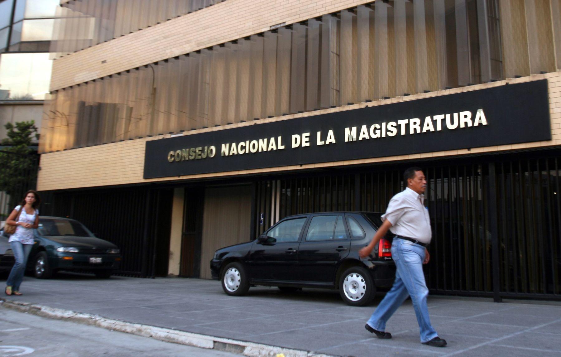 Sede del Consejo Nacional de la Magistratura. Foto: ANDINA/ Héctor Vinces.