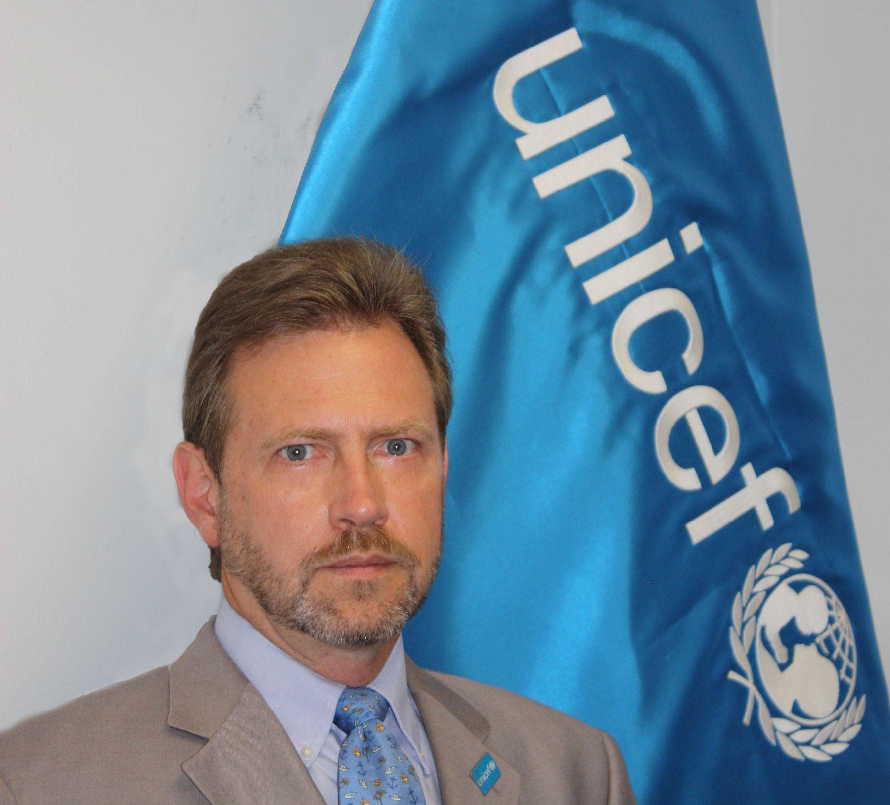 Nuevo representante de Unicef en Perú, Paul Martin