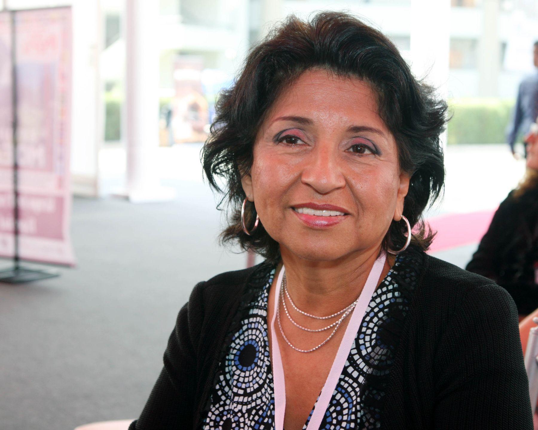 Gala Redington, Asesora de la secretaria de seguridad de la OEA. Foto: ANDINA/Norman Córdova