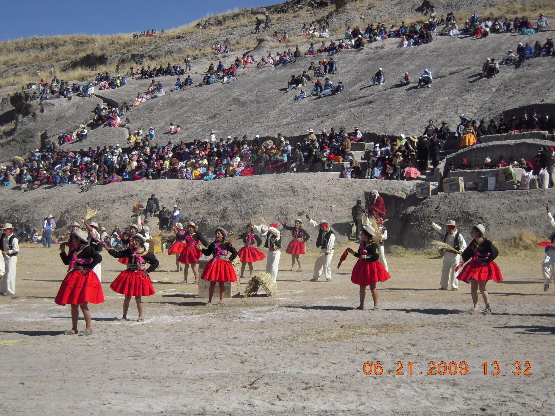 Yunguyo, en Puno, celebrará año nuevo andino con festival de danzas
