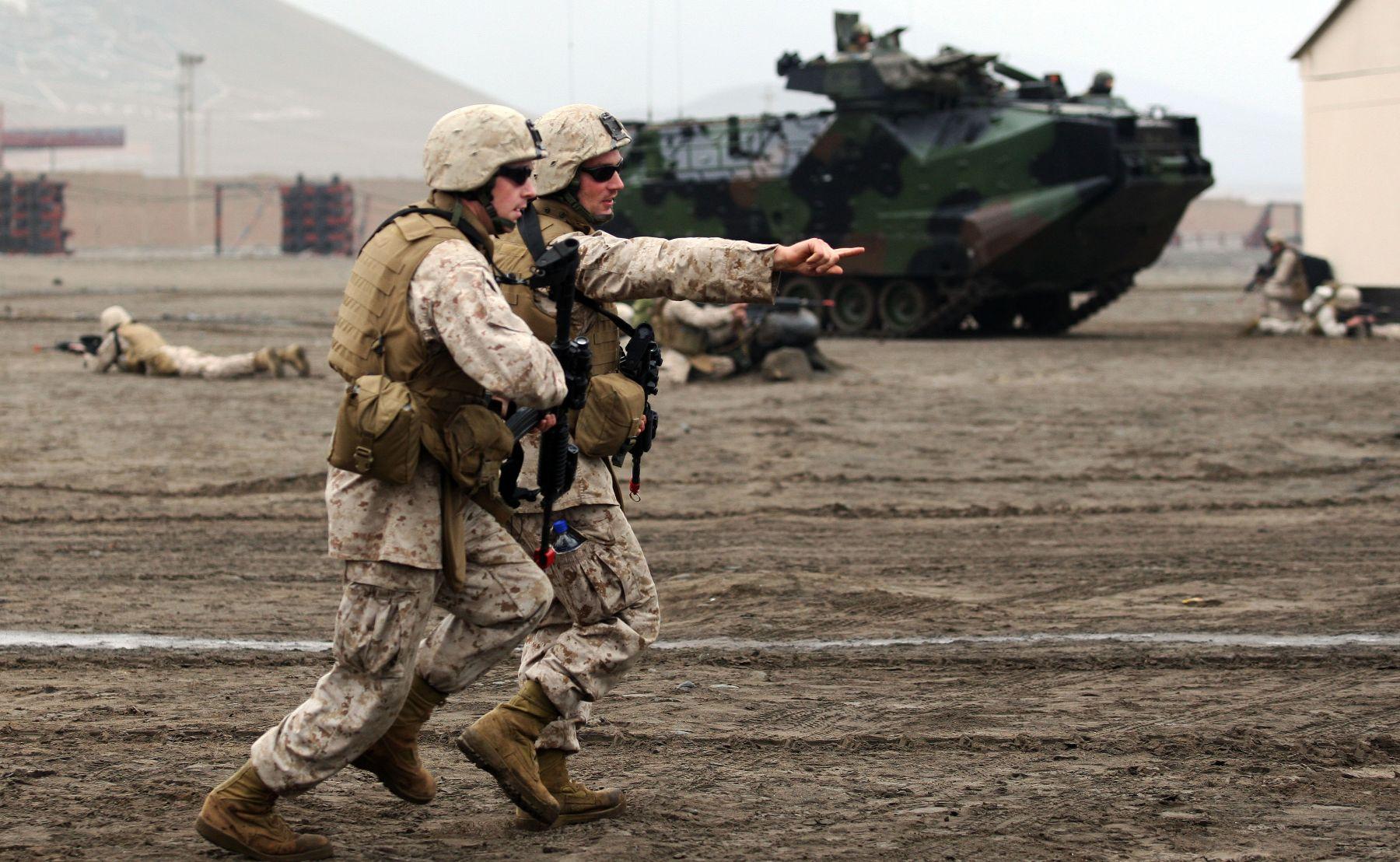 1,500 infantes de Marina de 10 países realizaron espectacular ...