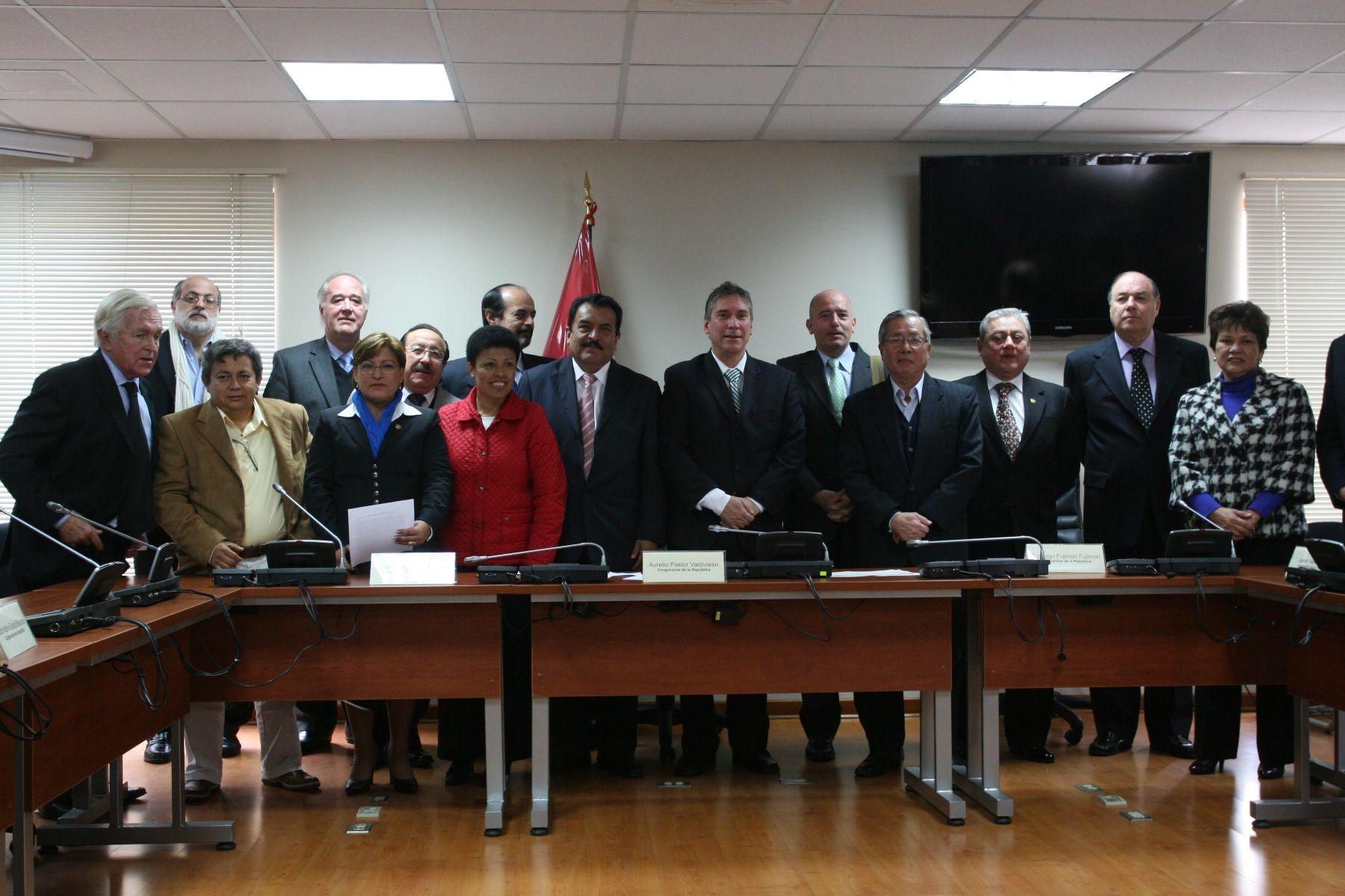 Instalación de la Comisión de Constitución del Congreso de la República. Foto:ANDINA/Rocío Farfán.