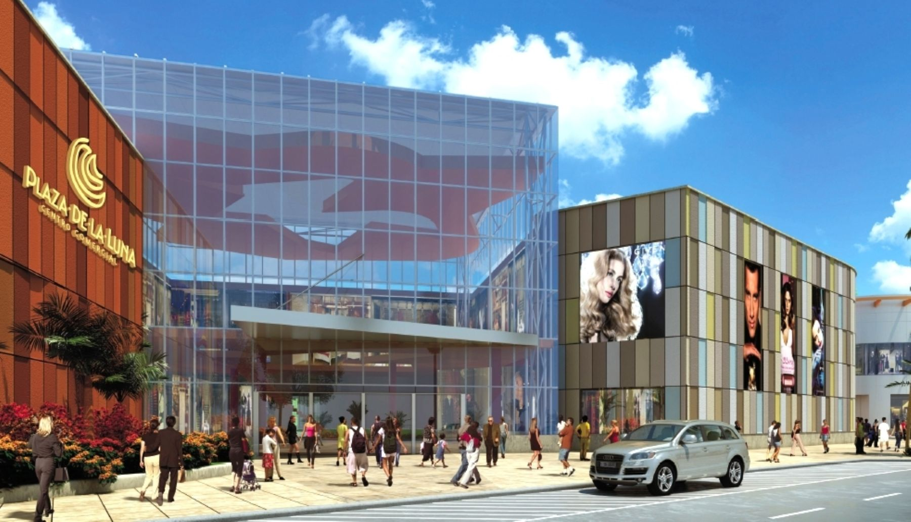 Futuro local del centro comercial Plaza de la Luna en Piura. FOTO: Difusión