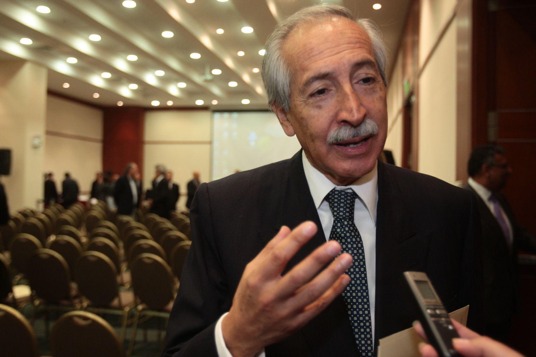 Director Ejecutivo de la IEDEP de la CCL, César Peñaranda. ANDINA/Juan Carlos Guzmán