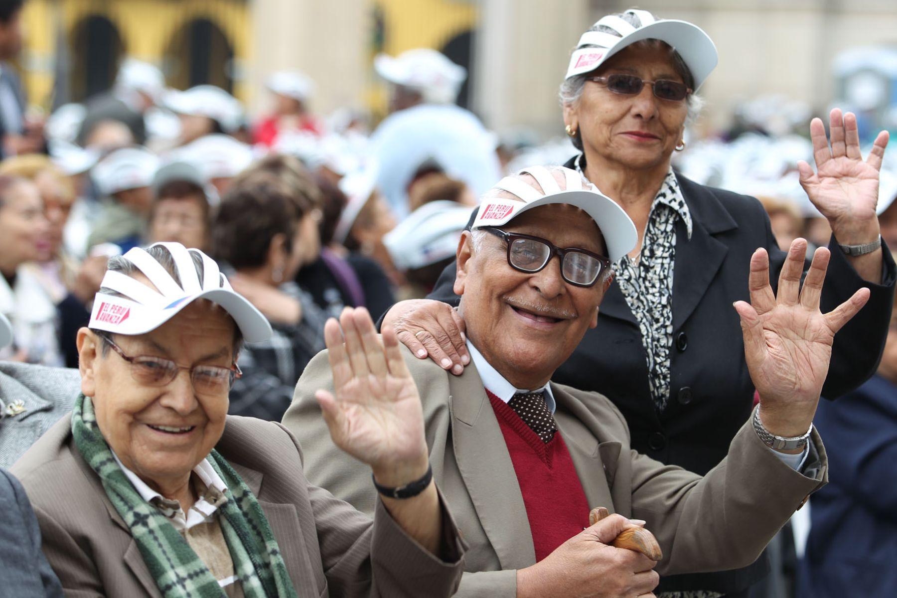 Pensionistas del DL 19990 cobrarán desde mañana cuota de bonificación extraordinaria. Foto: ANDINA/Archivo