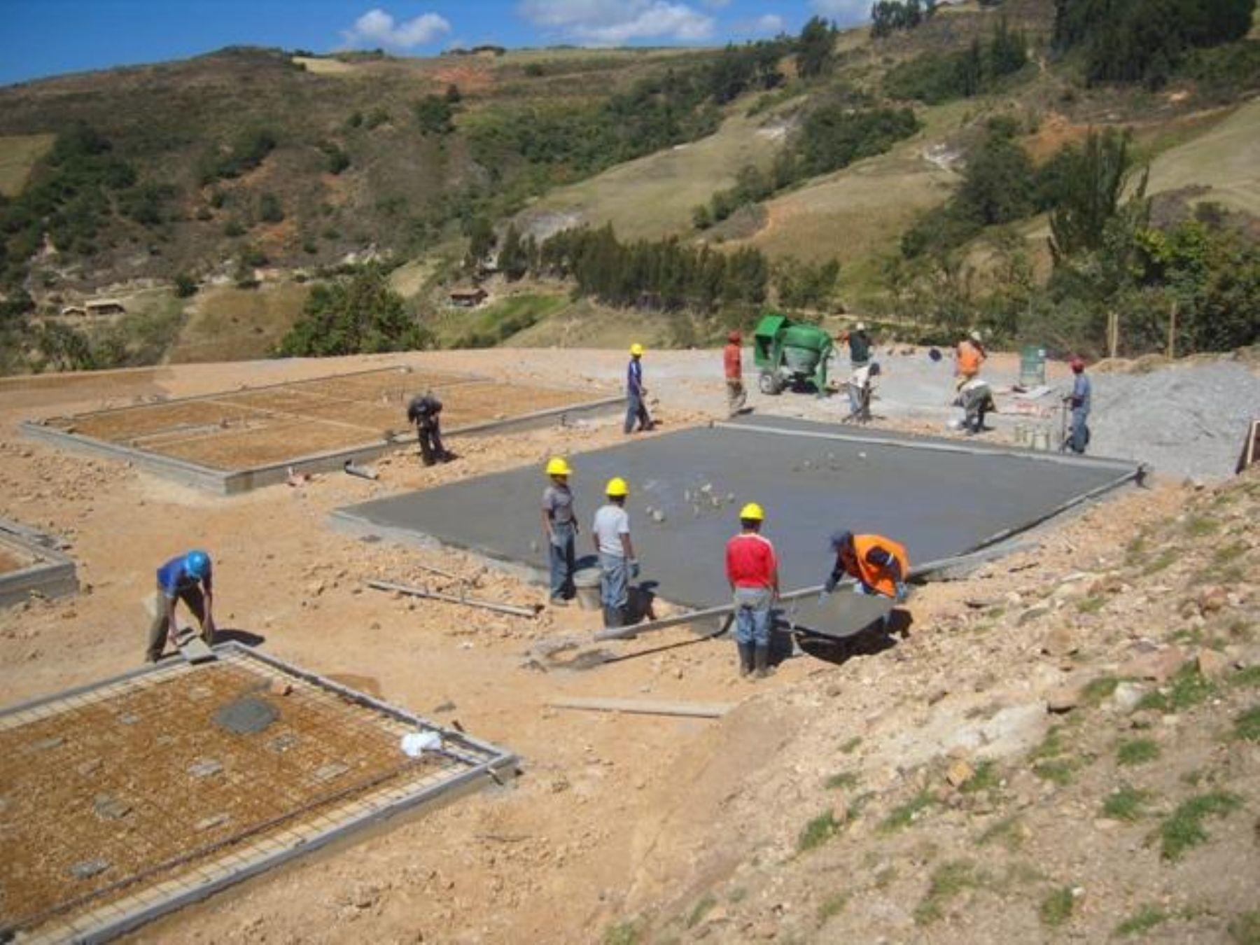 Campamento de operaciones en proyecto Shahuindo de Sulliden Gold Corp., Cajamarca. Foto: Cortesía: Sulliden Gold Corp.