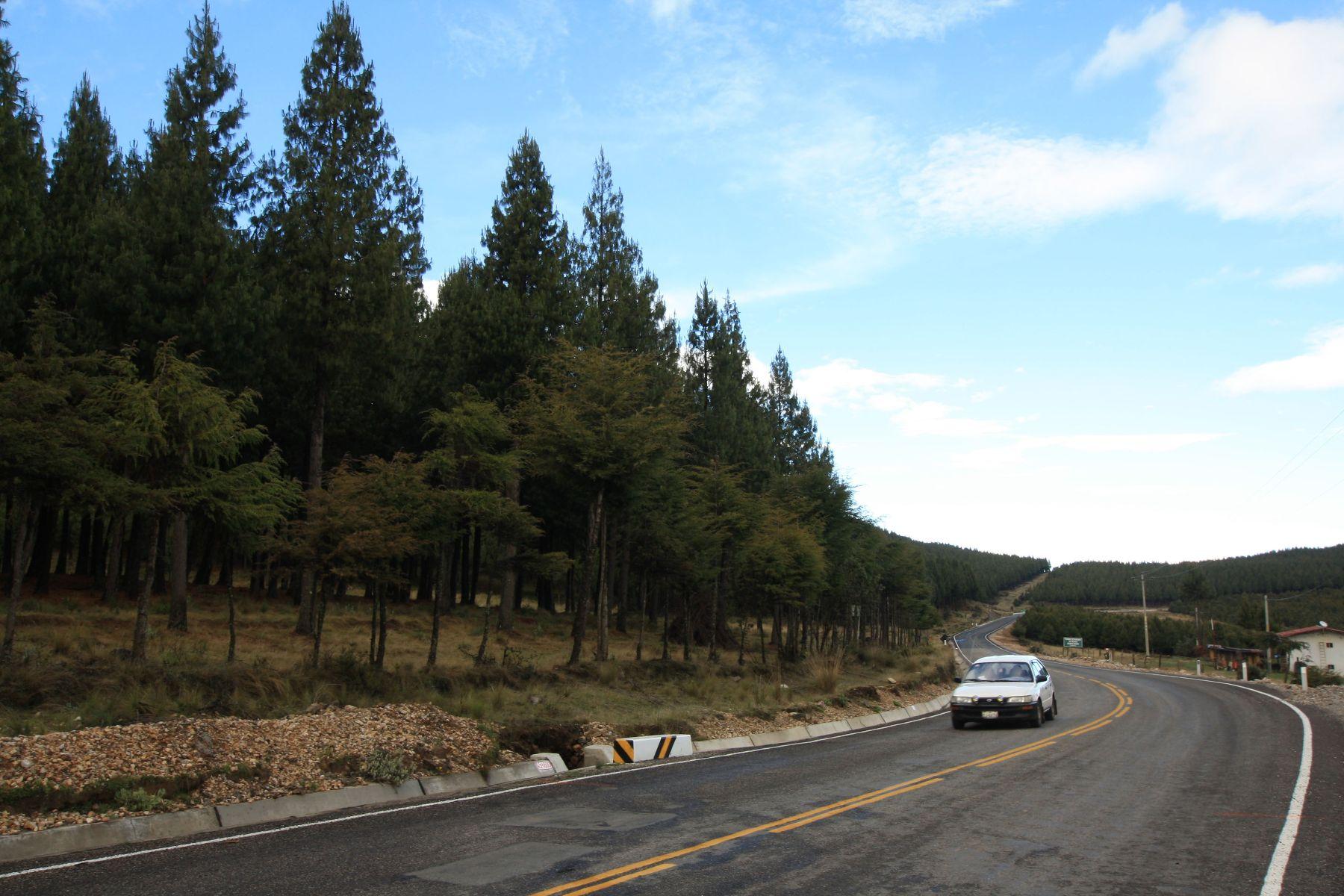 Carretera Kuntur Wasi, en Cajamarca.