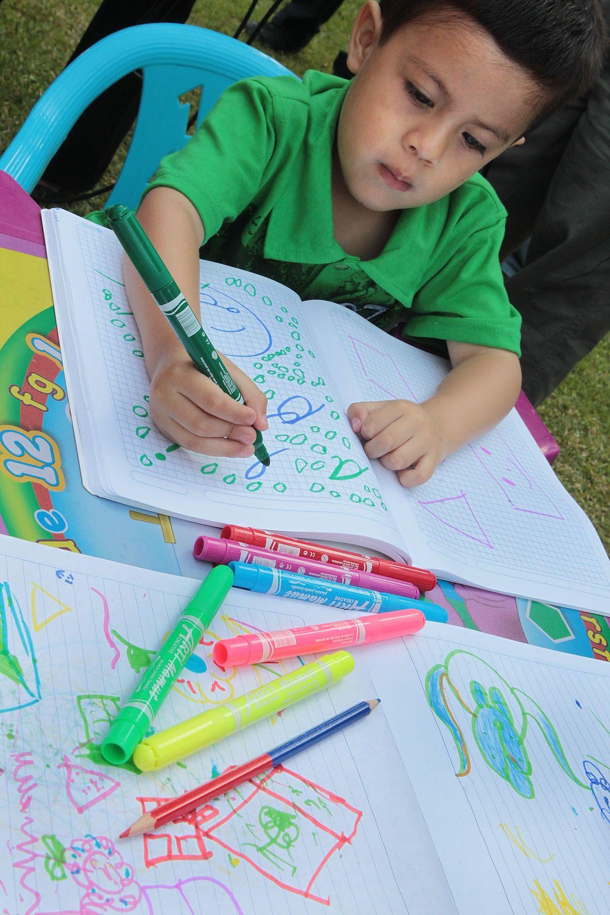 Los niños pueden ser los más afectados con los útiles tóxicos. Foto: ANDINA/Carlos Lezama.
