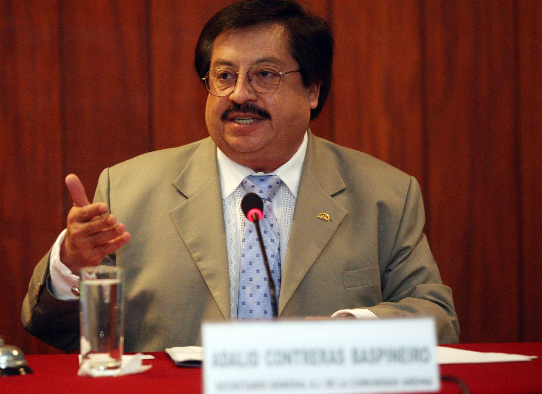 Adalid Contreras Baspineiro, secretario general de la Comunidad Andina. Foto: ANDINA/Gustavo Sánchez.