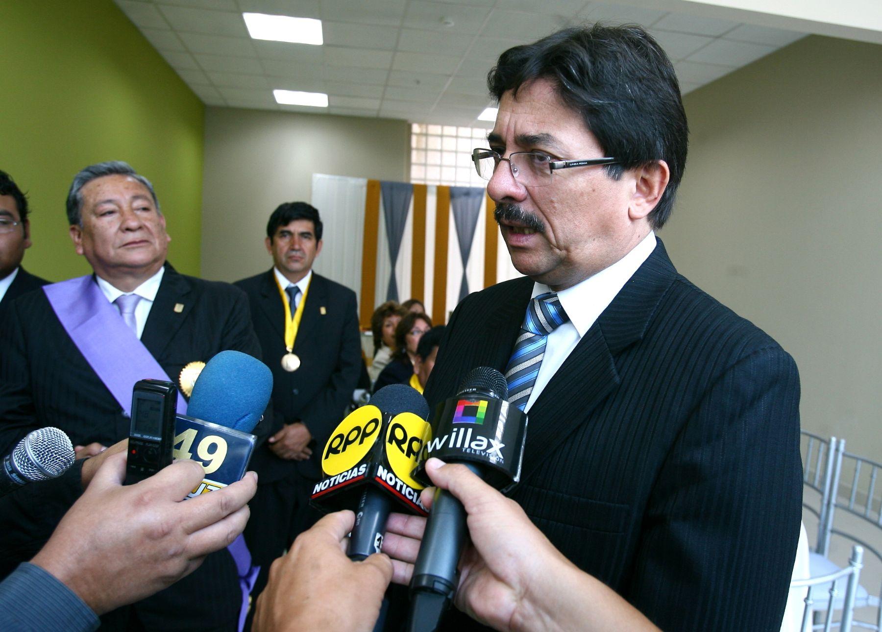 Enrique Cornejo, ministro de Transportes y Comunicaciones.Foto: ANDINA/Víctor Palomino