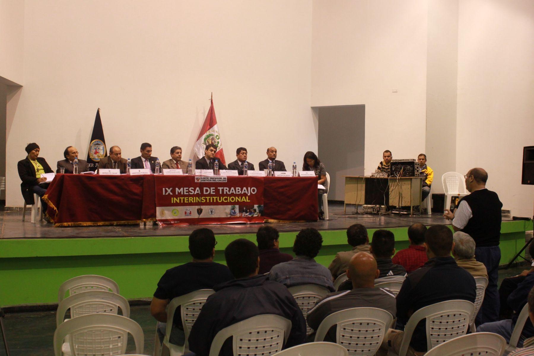 ueces del Callao dialogaron con internos del penal Sarita Colonia. Foto: ANDINA/Internet.