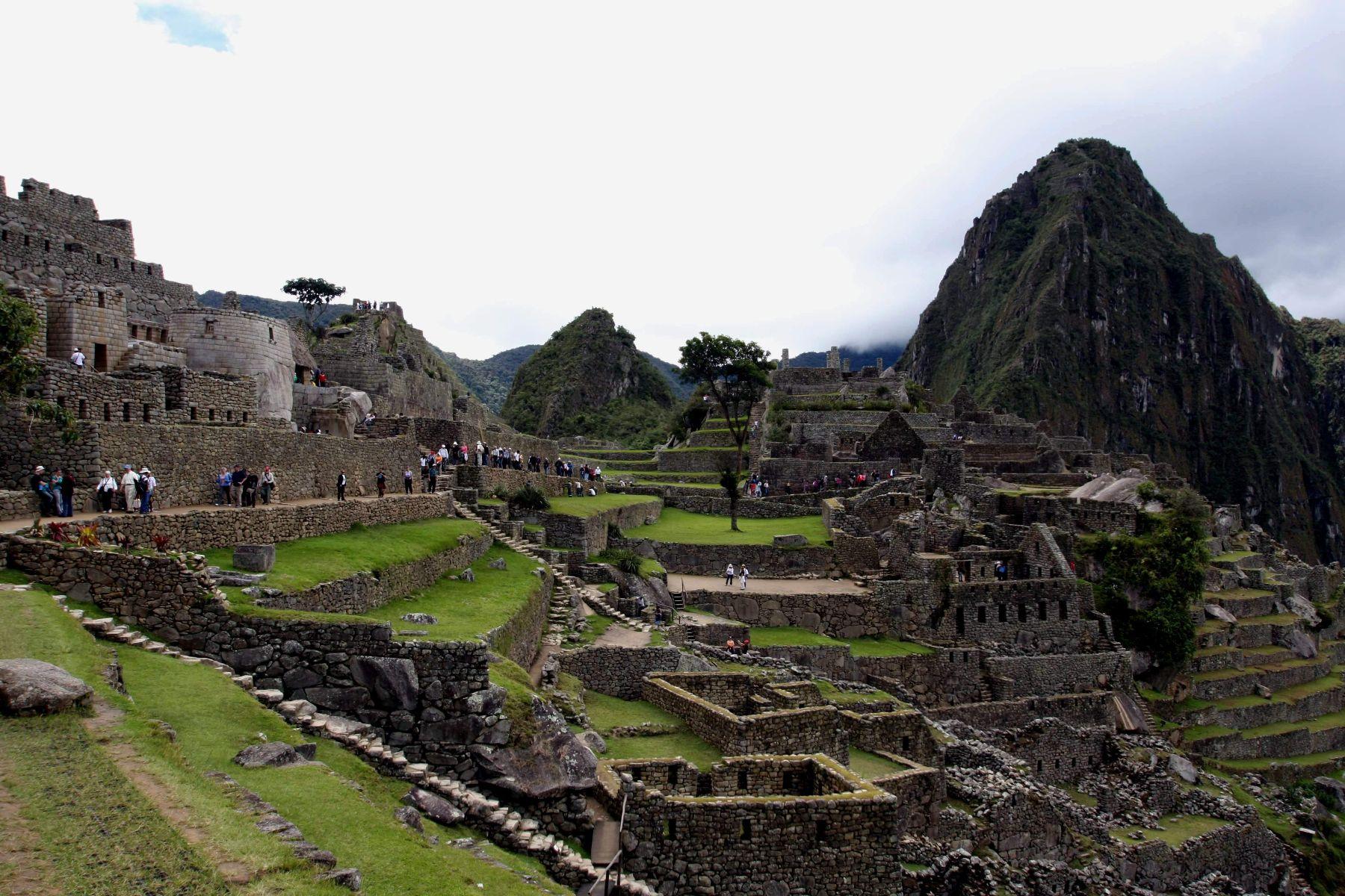Ciudadela incaica de Machu Picchu. Foto:ANDINA/Percy Hurtado.