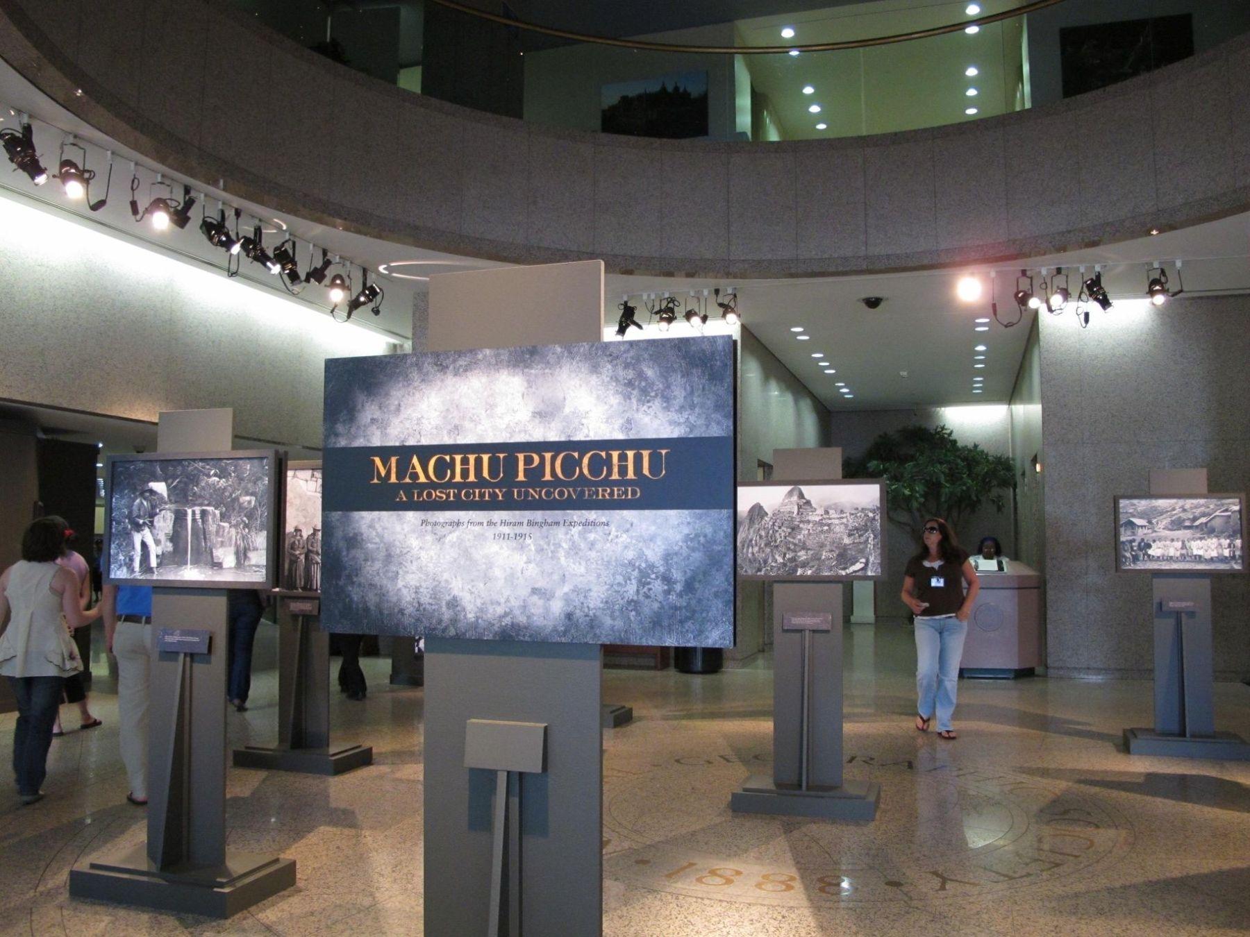 Embajada del Perú en Estados Unidos, en asociación con National Geographic Society (NatGeo), celebra en Washington DC el Centenario del Develamiento de Machu Picchu para el Mundo. Foto. Andina/ Embajada de Perú en Washington