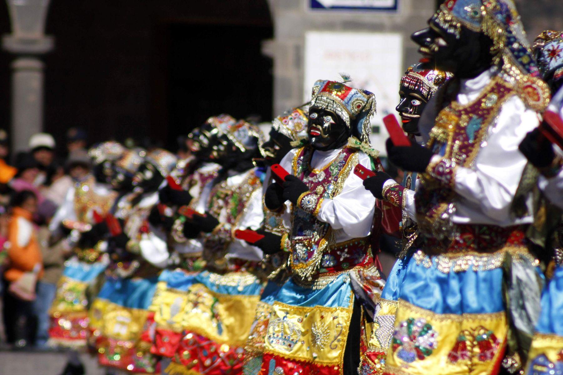Cusco celebra centenario de Machu Picchu con danzas multicolores. Foto: ANDINA / Percy Hurtado.