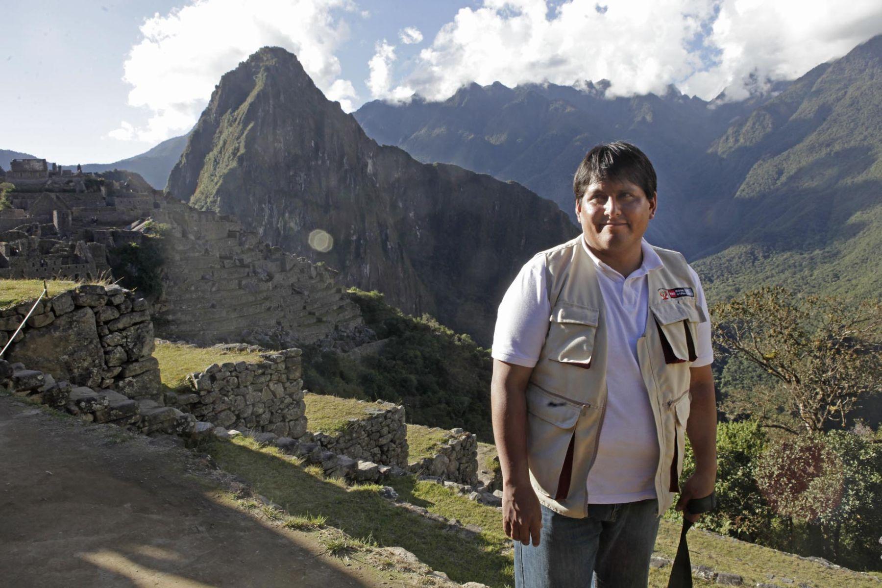 Director Regional de Cultura del Cusco, Juan Julio García.  Foto: ANDINA/Alberto Orbegoso