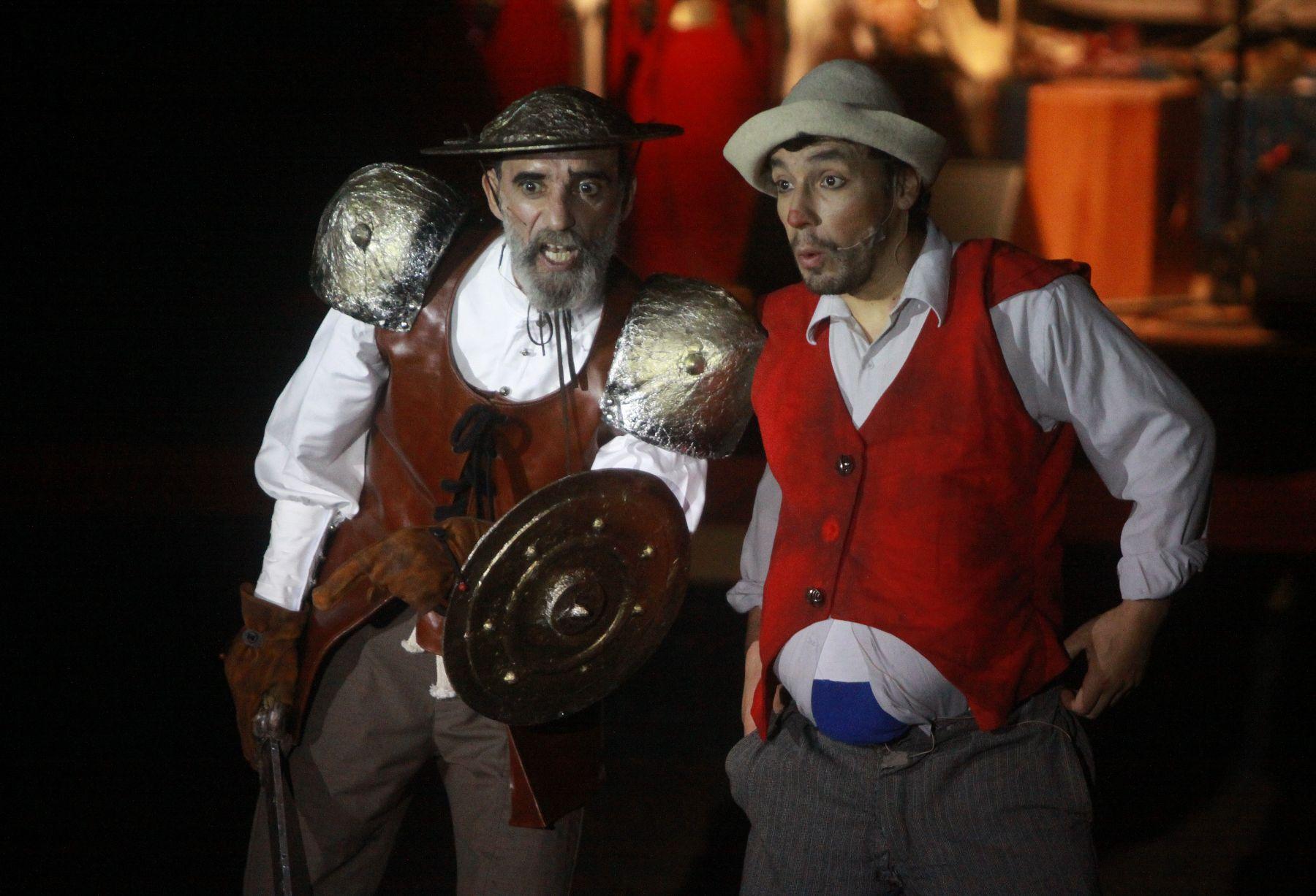 """Circo """"La Tarumba"""" presenta """"Quijote"""".Foto: ANDINA/Jessica Vicente"""