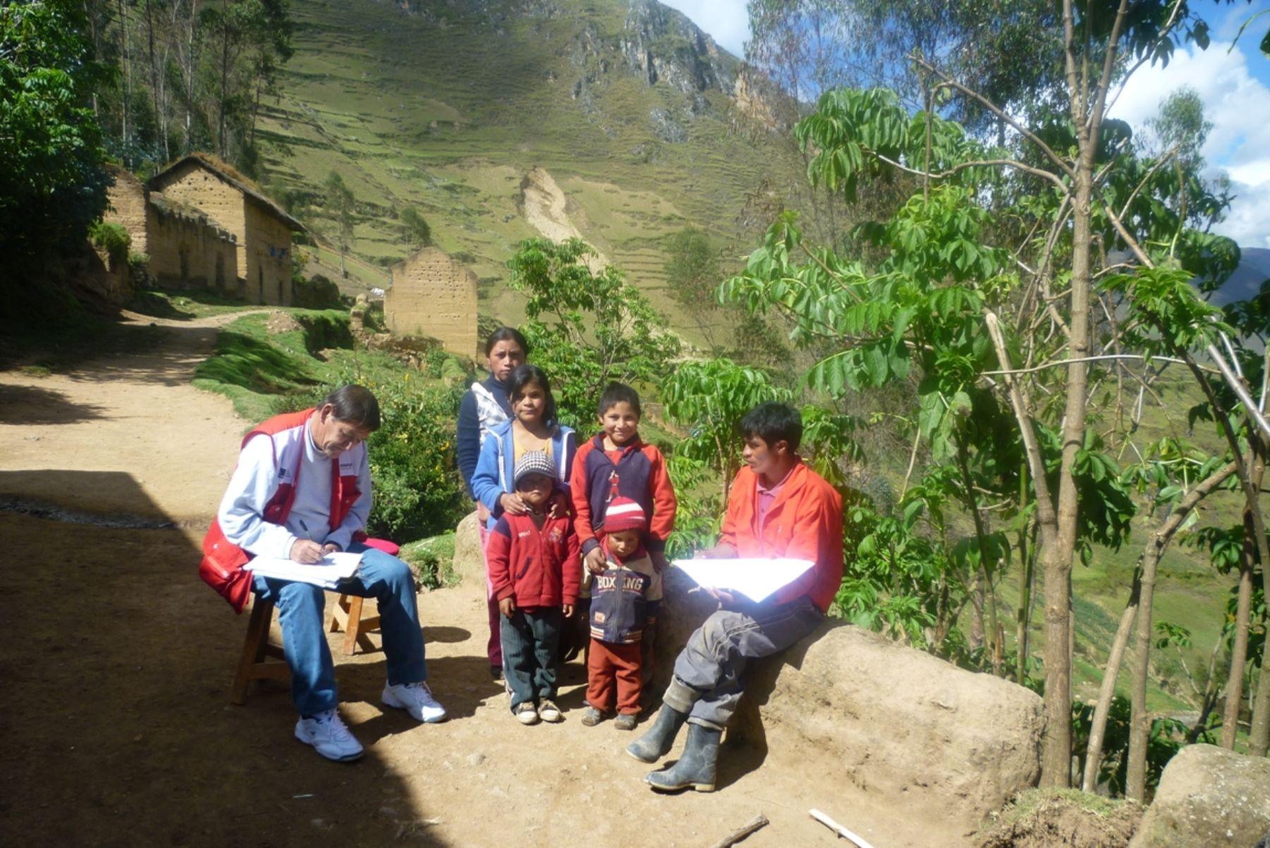 Cofopri formalizará predios de más de 4,000 familias de Ayacucho. Foto: Cofopri.