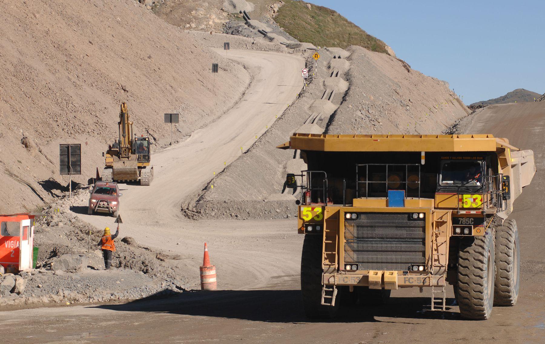 Explotación minera. Foto: ANDINA/ archivo.