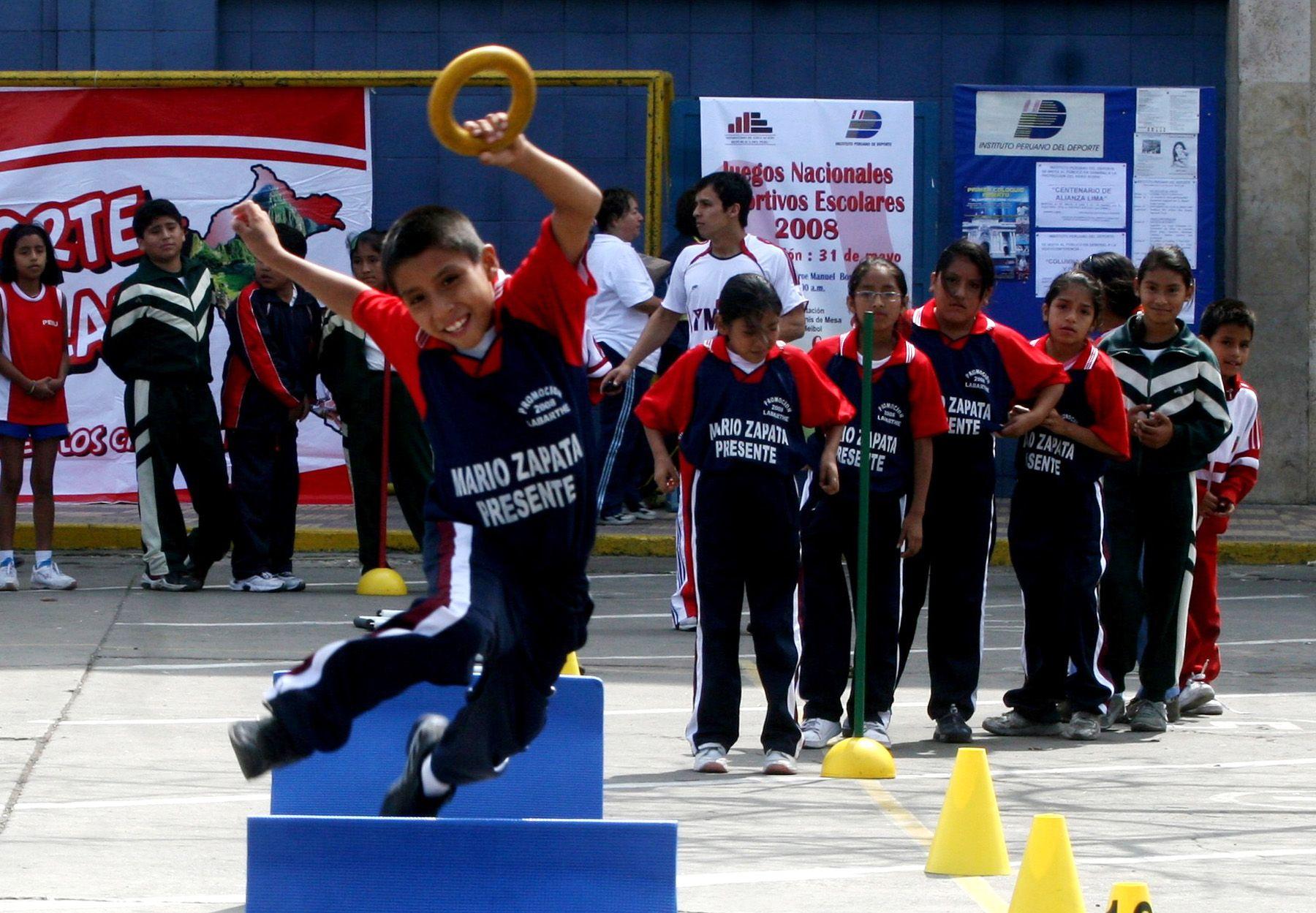 Escolares de todo el país tendrán el próximo año más horas de Educación Física. Foto: ANDINA/archivo